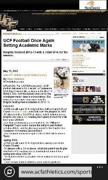 UCF News Screenshot 8
