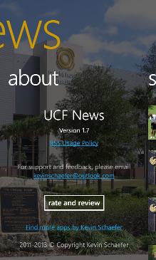 UCF News Screenshot 5