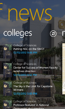 UCF News Screenshot 3