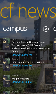UCF News Screenshot 2